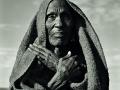Masai Elder with Crossed Arms, Kenya, 1985